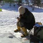 網走湖のワカサギと氷上のレンタル概要!超ビッグワカサギ釣果まずまず!